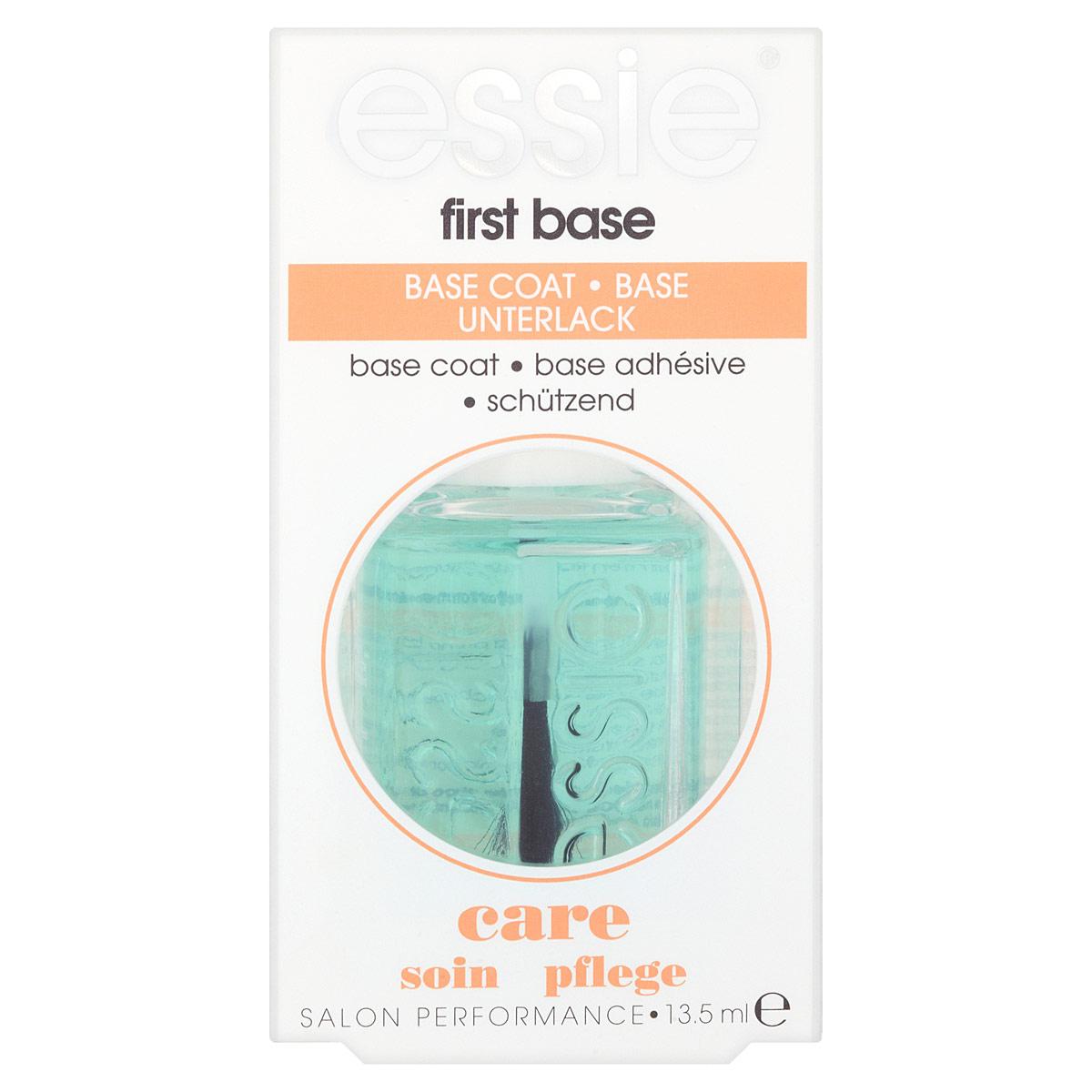 Essie Основа для ногтей First Base, универсальная, 13,5 млB2256002Универсальная основа для ногтей Essie First Base выравнивает поверхность ногтя и защищает лак от сколов. Объем: 13,5 мл. Товар сертифицирован.