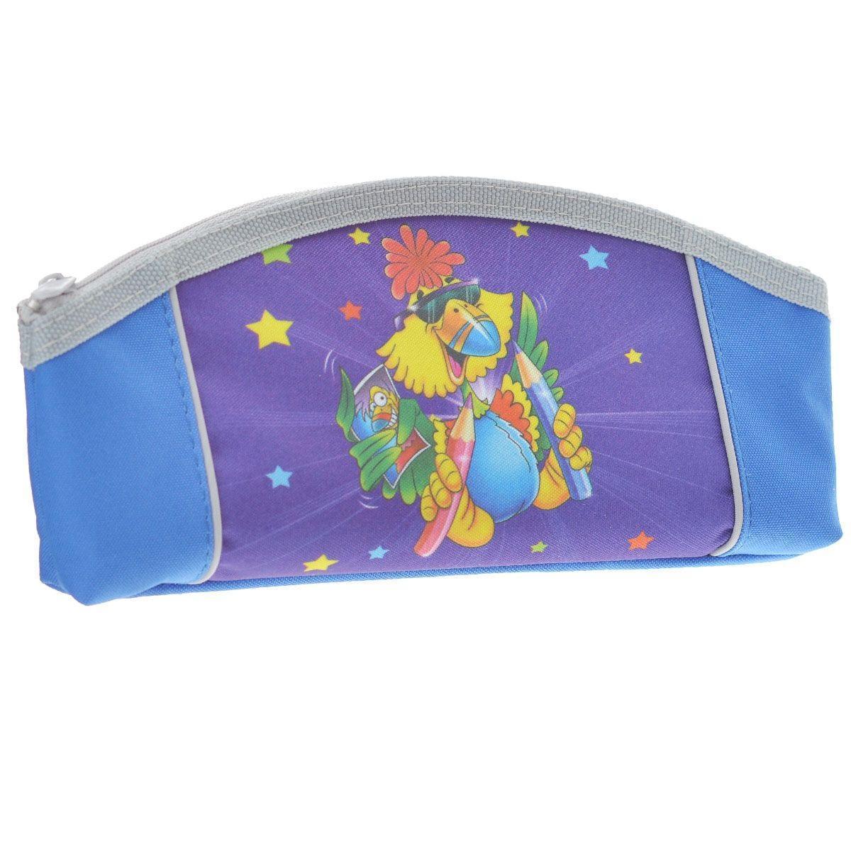 Пенал на молнии JOYFUL BIRDIE,1 отделение, без наполнения, цвет: сине-фиолетовый2921/TGУдобный пенал для школьных канцелярских принадлежностей. Имеет одно отделение и надежную застежку-молнию. Яркий красочный дизайн. Отличное сочетание цены и качества - именно то что вам нужно.