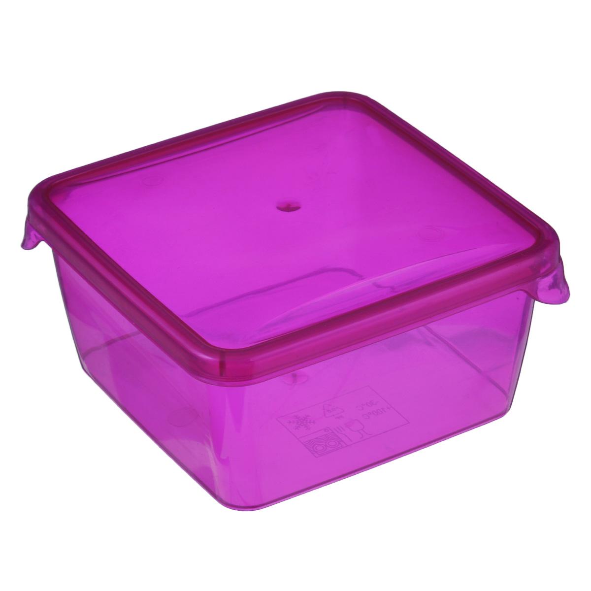 Контейнер P&C Браво, цвет: розовый, 450 млПЦ1030Контейнер P&C Браво выполнен из высококачественного пищевого прозрачного пластика и предназначен для хранения и транспортировки пищи. Крышка легко открывается и плотно закрывается с помощью легкого щелчка. Подходит для использования в микроволновой печи без крышки (до +100°С), для заморозки при минимальной температуре -30°С. Можно мыть в посудомоечной машине.