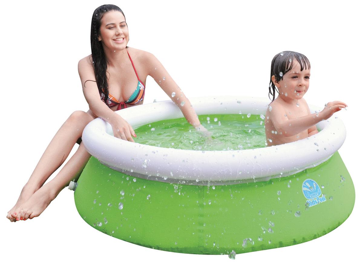 """Бассейн надувной Jilong """"Kids Pool"""", цвет: салатовый, 122 см х 35 см"""