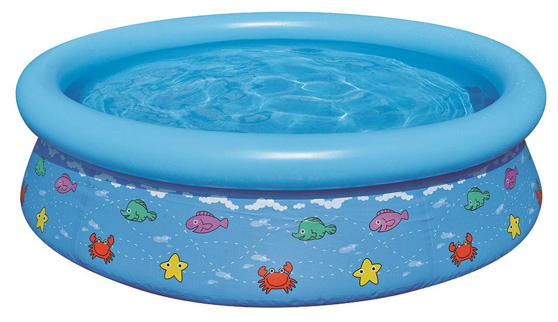 Бассейн надувной Jilong Kids Pool, цвет: голубой, 150 см х 38 смJL017231NPF(н)Круглый надувной бассейн Jilong Kids Pool предназначен для детского и семейного отдыха на загородном участке. Отлично подойдет для детей от 3 лет. Бассейн изготовлен из прочного трехслойного ПВХ. Комфортный дизайн бассейна и приятная цветовая гамма сделают его не только незаменимым атрибутом летнего отдыха, но и оригинальным дополнением ландшафтного дизайна участка. В комплект с бассейном входит заплатка для ремонта в случае прокола.