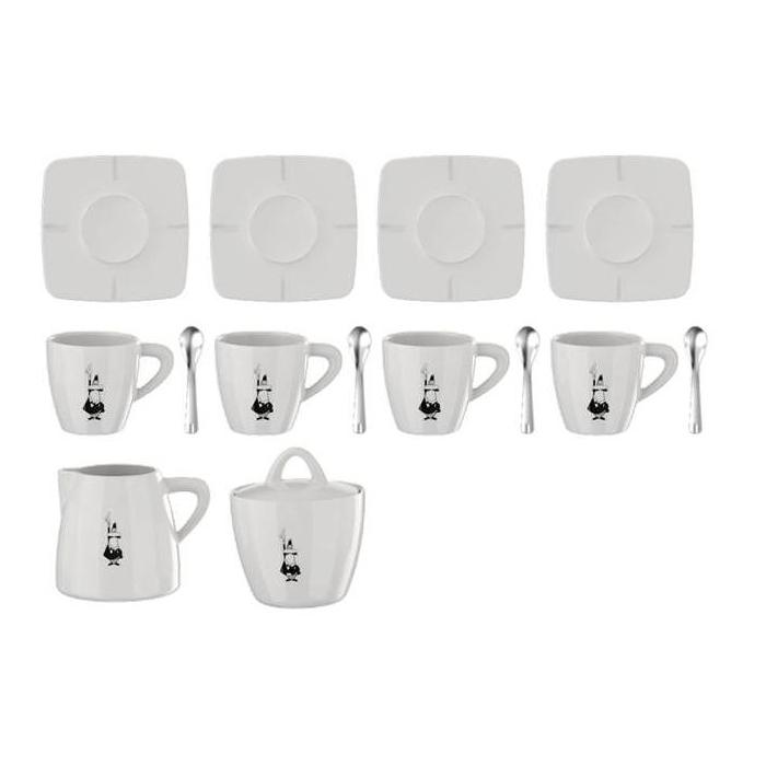 Набор посуды Bialetti Porcelain gift box 14 pcs98920090Набор посуды Bialetti Porcelain gift box 14 pcs