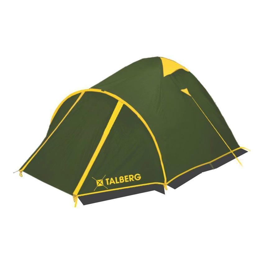 Палатка Talberg MALM PRO 2, цвет: зеленыйУТ-000058591Палатка Talberg Malm Pro 2, превосходная двухместная модель, пригодная для всех видов туризма, в том числе горного. Палатка снабжена тамбуром увеличенного размера, который поддерживается отдельной дугой. Также имеется второй вход, позволяющий удобно попадать в палатку, если в большом тамбуре сложено снаряжение. Палатка Talberg Malm Pro 2 снабжена также защитной юбкой, что обеспечивает комфорт даже в условиях неблагоприятной погоды - сильного ветра, дождя, снега. Каркас палатки Talberg Malm Pro 2 изготовлен из магний-алюминиевого сплава Alu 7001-T6, очень легкого, прочного и не имеющего остаточных деформаций. Эта модель хорошо сбалансирована по сочетанию цены и свойств. Высококачественные материалы, хорошая ветроустойчивость, легко и без усилий устанавливается даже одним человеком, эффективная система вентиляции с москитными сетками позволяет в достаточной мере проветривать палатку. Все швы проклеены термоусадочной лентой, в спальном отделении предусмотрены карманы для мелочей....