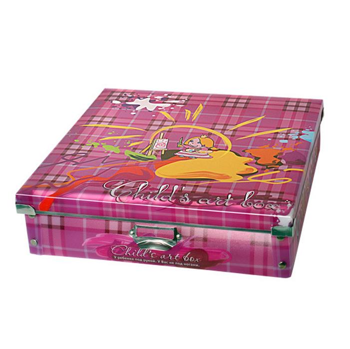 Okashi Коробка-органайзер Useful One цвет розовый 35 см х 35 см х 9 см