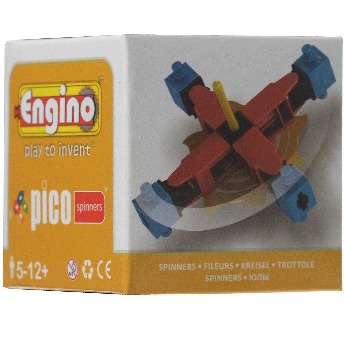 Engino Конструктор Spinners PS02PS02С помощью конструктора Engino Spinners ваш ребенок сможет собрать из 14 пластиковых элементов оригинальный волчок. Компания Engino разработала серию Pico Spinners, чтобы дети могли совместить удовольствие от игры с волчком с развитием инженерных навыков. Объединив детали четырех наборов серии, можно построить более сложные модели - два вида самолетов или вертолет.
