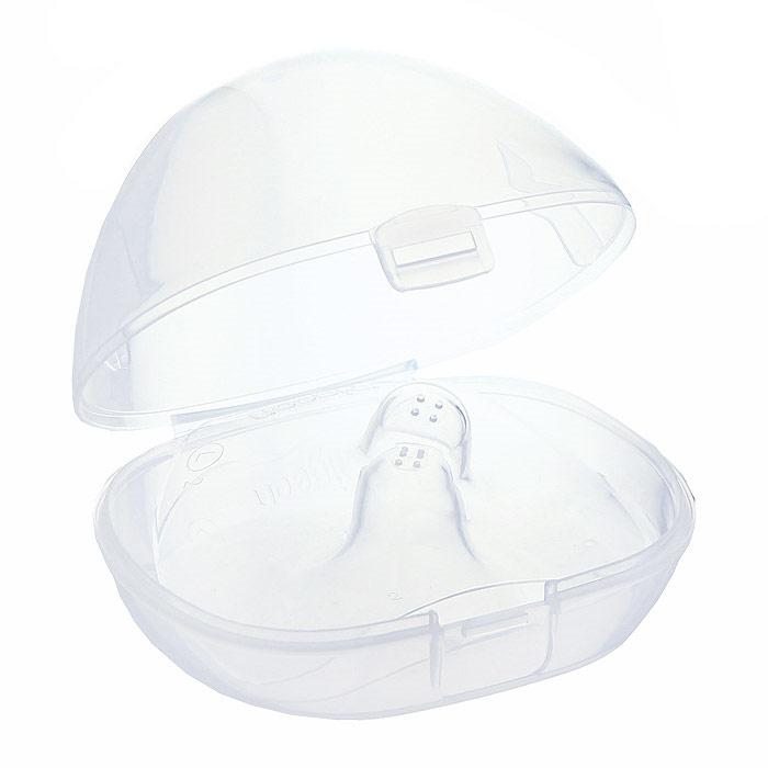 PIGEON Защитные накладки на соски, размер L, 2шт16183Накладка для кормления Pigeon (Пиджеон) применяется при сильных травмах сосков, болезненности, трещинах, а также в случае, если не подходят защитные накладки. Накладка разработана на основе исследований грудного вскармливания и в точности повторяет форму соска мамы. Накладка подходит для соска, диаметром до 13 мм.