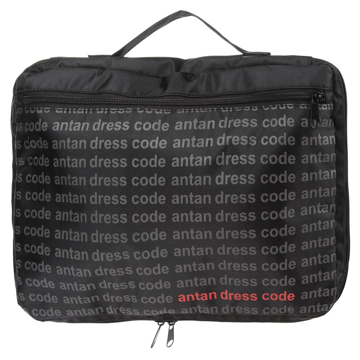 Сумка молодежная Antan, цвет: черный. 3-243-24Практичная молодежная сумка Antan выполнена из полиэстера и оформлена принтом с надписями. Модель имеет одно основное отделение, закрывающееся на молнию. Внешний врезной карман на молнии. Блестящий дизайн сумки, сочетающий классические формы с оригинальным оформлением, позволит вам подчеркнуть свою индивидуальность и сделает ваш образ изысканным и завершенным.