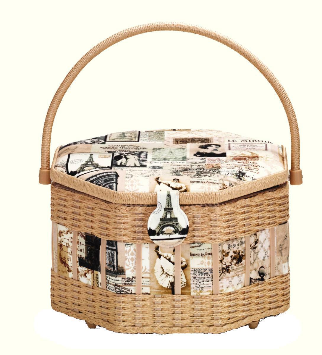 Шкатулка для рукоделия Vintage, 30,5 см х 30,5 см х 19 см612285Шкатулка для рукоделия Vintage , станет чудесным подарком для рукодельницы. Порадуйте женщин незаменимой шкатулкой Vintage от производителя Prym.