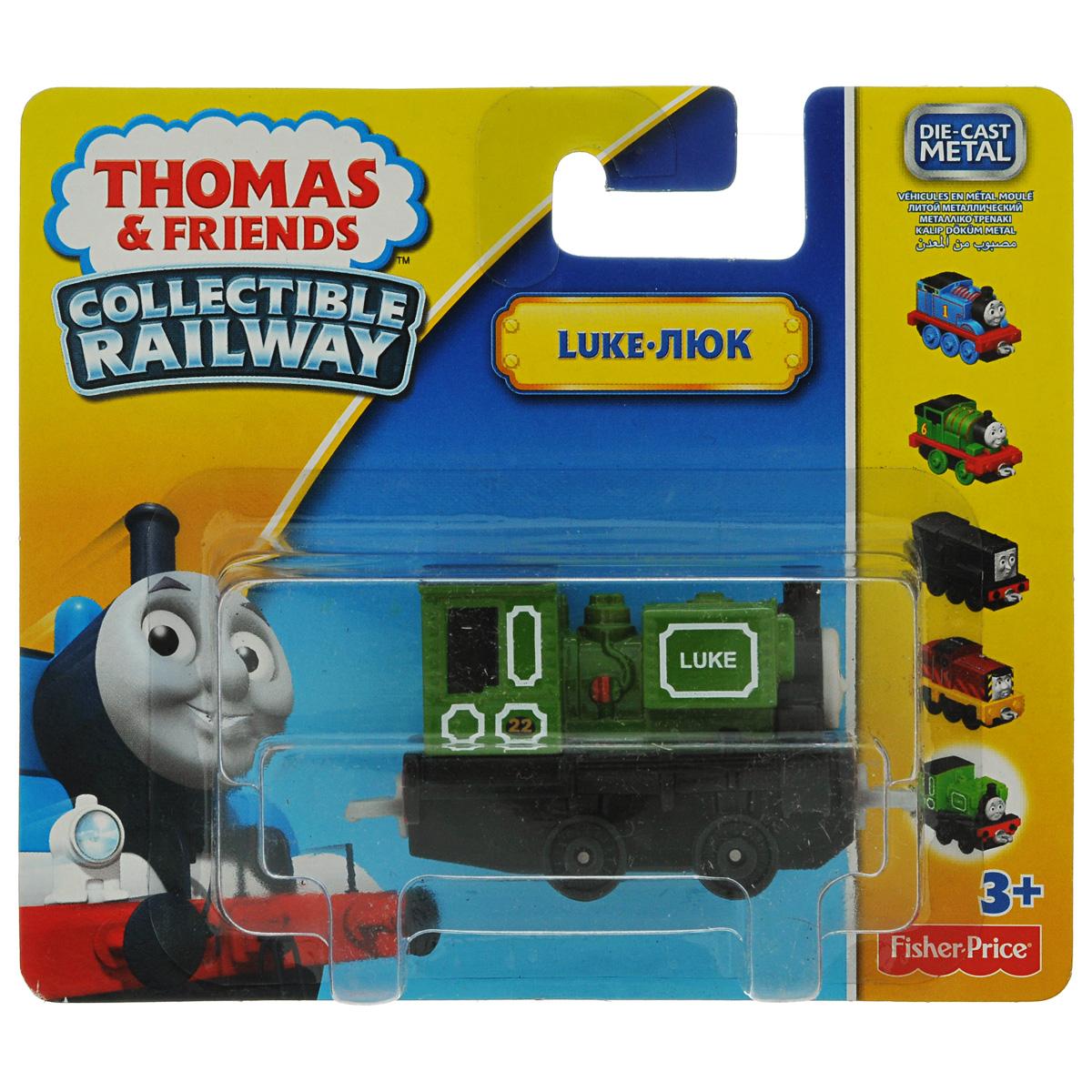 Thomas&Friends Collectors Базовый паровозик Люк, цвет: зеленыйBHR64/BHR91