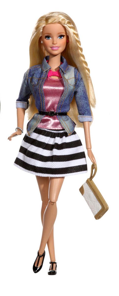 Barbie Кукла Барби в Casual в полосатой юбке