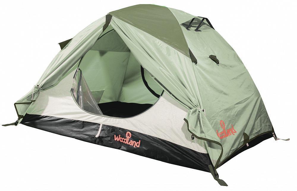 """Палатка туристическая Woodland """"TOUR 3 ALU (2013)"""", цвет: олива. 0036244"""