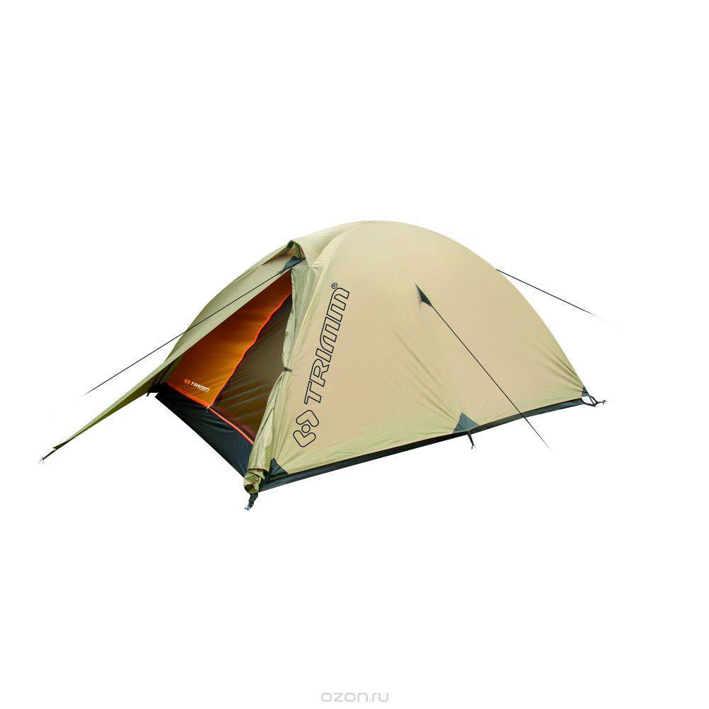 Палатка двухместная Trimm ALFA 2, цвет: песочныйR36946Палатка Trimm ALFA – небольшая туристическая палатка серии Trekking с внешним тентом песочного цвета. Эта модель предназначена для использования с весны по осень. Пригодится, прежде всего, туристам, рыбакам и охотникам. Палатка ALFA от известного чешского производителя Trimm относится к серии Trekking, в которой представлены все сезонные палатки. В этой палатке комфортно могут разместиться 2 человека, а при желании можно разместить и третьего, но станет несколько тесновато.