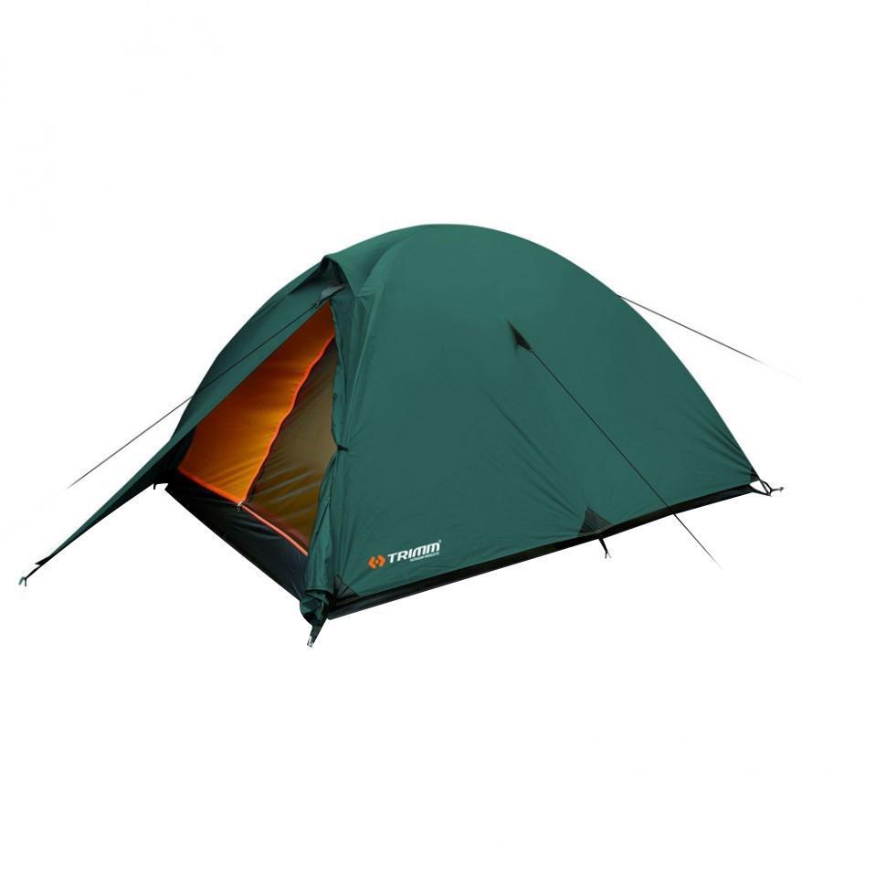Палатка двухместная Trimm COMET 2, цвет: зеленыйR36947Палатка Trimm COMET – бюджетная модель туристической палатки серии Outdoor с внешним тентом зеленого цвета. Она прекрасно подойдет для сезона весна/осень. Данное изделие будет интересно, в первую очередь, туристам, а также всем любителям активного отдыха. Палатка COMET от чешского производителя Trimm относится к бюджетной серии Outdoor, подходящей для неприхотливого пользователя. Внутри палатки комфортно разместятся 2 человека, но, если очень захотеть, то можно поместиться и втроем, правда, в ущерб комфорту.