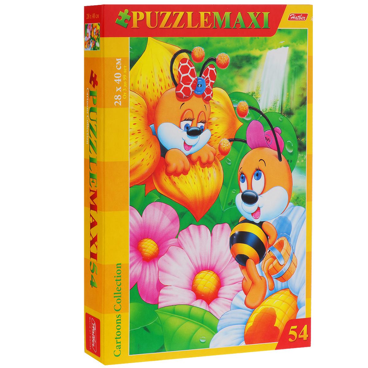 Пчелки. Пазл, 54 элемента54ПЗ3_00206Пазл Пчелки, без сомнения, придется по душе вашему ребенку. Собрав пазл, вы получите яркую, насыщенную картинку с изображением трудолюбивых насекомых. Пазлы - замечательная игра для всей семьи. Сегодня собирание пазлов стало особенно популярным, главным образом, благодаря своей многообразной тематике, способной удовлетворить самый взыскательный вкус. Собирание пазла развивает у детей мелкую моторику рук, тренирует наблюдательность, логическое и образное мышление, знакомит с окружающим миром, с цветом и разнообразными формами, учит усидчивости и терпению, аккуратности и вниманию. Получившееся яркое изображение станет отличным украшением вашего интерьера.