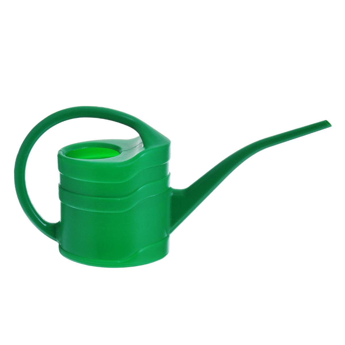 Лейка садовая Калита, цвет: зеленый, 1,3 л77371_зеленыйЛейка Калита изготовлена из яркого цветного пластика, оснащена удобной фиксированной ручкой и длинным носиком. Идеальный вариант для полива цветов дома или в саду.
