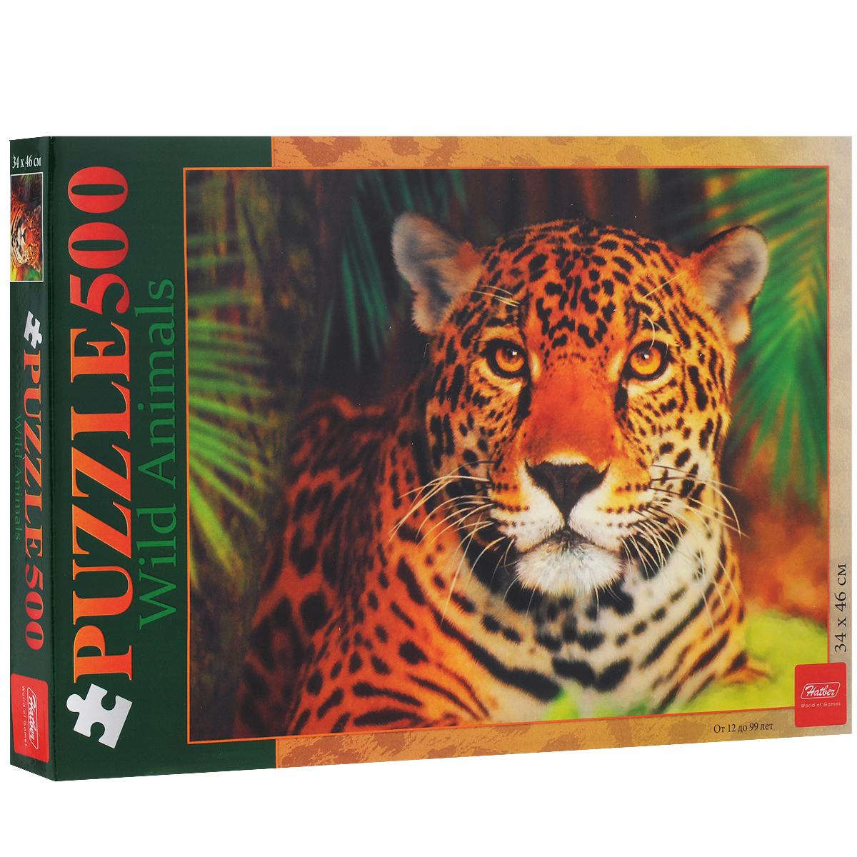 Леопард. Пазл, 500 элементов