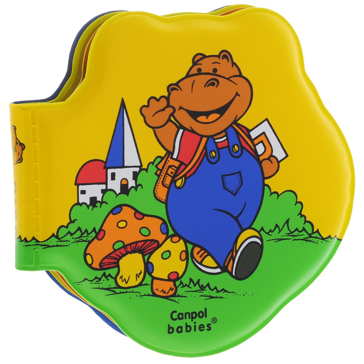 Canpol Babies Книжка-игрушка для ванны Бегемот
