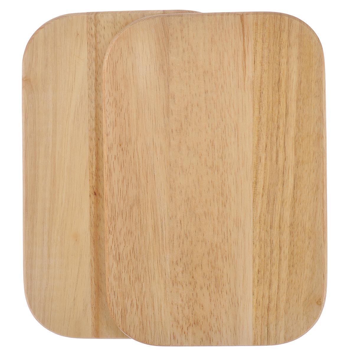 Доска разделочная Kesper, бамбуковая, 15 х 23 х 1 см, 2 шт6400-2Небольшие разделочные доски Kesper изготовлены из высококачественной древесины бамбука, обладающей антибактериальными свойствами. Бамбук - инновационный материал, идеально подходящий для разделочных досок. Доски из бамбука обладают высокой плотностью структуры древесины, а также устойчивы к механическим воздействиям. Функциональные и простые в использовании, разделочные доски Kesper прекрасно впишутся в интерьер любой кухни и прослужат вам долгие годы. Размер доски: 15 см х 23 см х 1 см.
