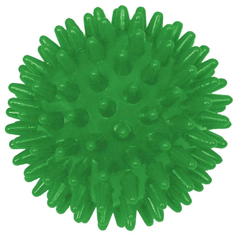 Игрушка для собак V.I.Pet Массажный мяч, цвет: зеленый, диаметр 6 смBL11-015-60Игрушка для собак V.I.Pet Массажный мяч, изготовленная из ПВХ, предназначена для массажа и самомассажа рефлексогенных зон. Она имеет мягкие закругленные массажные шипы, эффективно массирующие и не травмирующие кожу. Игрушка не позволит скучать вашему питомцу ни дома, ни на улице. Диаметр: 6 см.