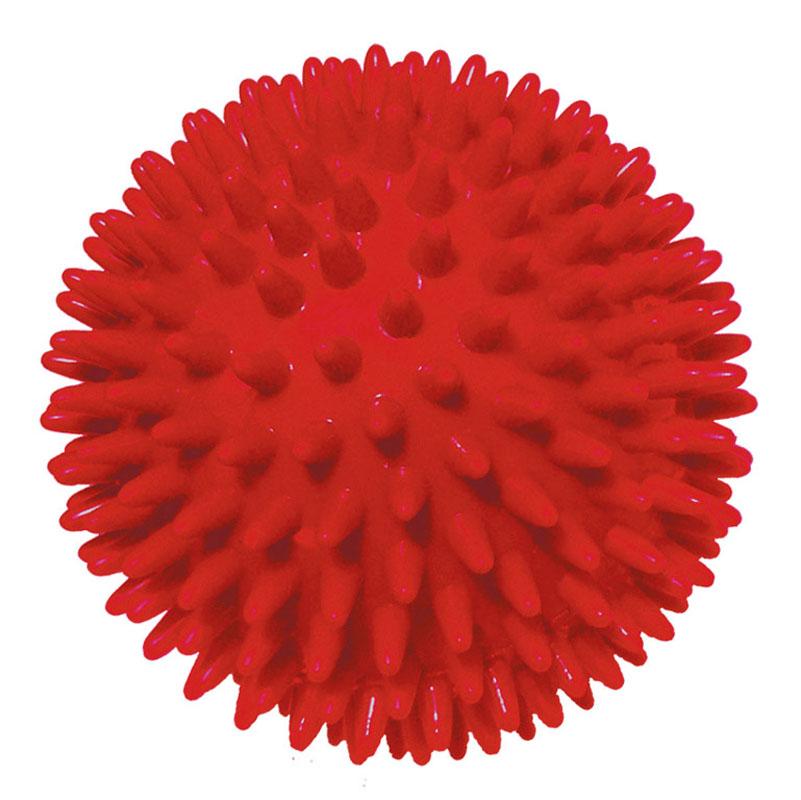 Игрушка для собак V.I.Pet Массажный мяч, цвет: красный, диаметр 8 смBL11-015-80Игрушка для собак V.I.Pet Массажный мяч, изготовленная из ПВХ, предназначена для массажа и самомассажа рефлексогенных зон. Она имеет мягкие закругленные массажные шипы, эффективно массирующие и не травмирующие кожу. Игрушка не позволит скучать вашему питомцу ни дома, ни на улице. Диаметр: 8 см.