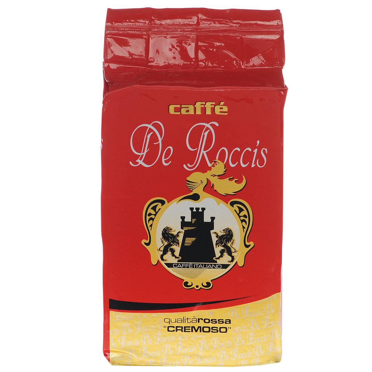 De Roccis Rossa кофе молотый, 250 г