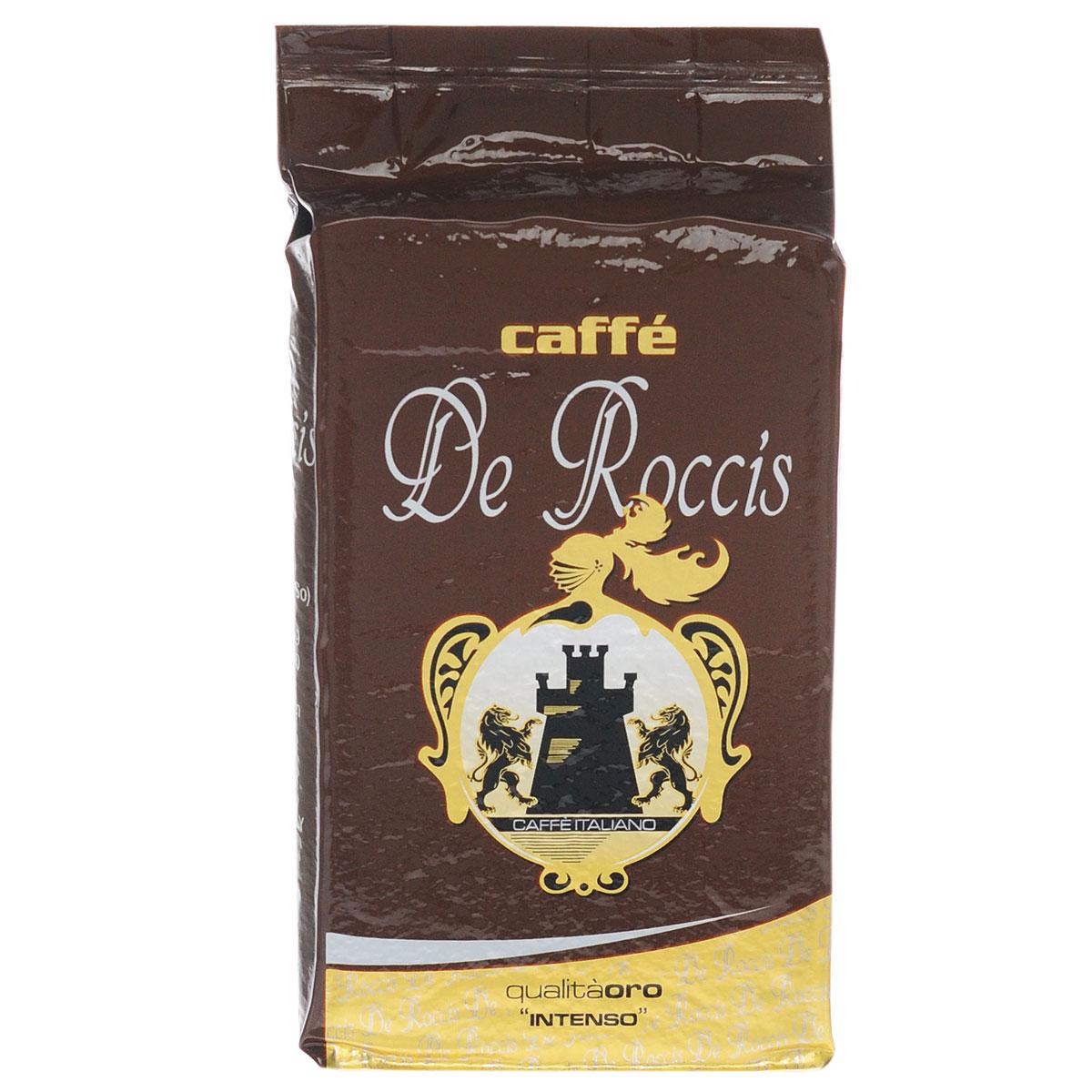 De Roccis Oro кофе молотый, 250 г