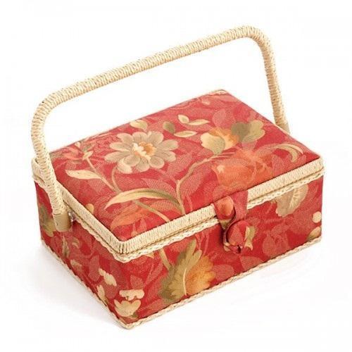 Шкатулка для рукоделия ZA-09630-22 Grace, красная с бежевыми цветамиZA-09630-22Шкатулка выполнена из ткани оригинальной расцветки. Изнутри шкатулка отделана атласным материалом, что позволяет отнести ее к классу Люкс! Шкатулка подойдет для хранения самых различных предметов в доме: от женских украшений до разных мелких предметов. В каждой шкатулке имеется съемный пластиковый лоток с отделениями.