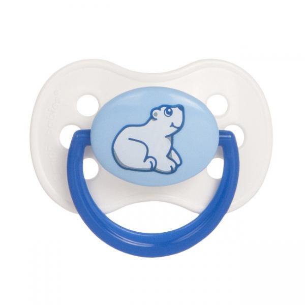 Canpol Babies Пустышка латексная от 0 до 6 месяцев цвет белый