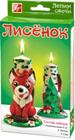 Набор лепим свечи Лисенок24С 1503-08Лепим свечи - уникальные наборы для изготовления свечей в домашних условиях. Восковые пластины не содержат вредных добавок и безопасны для детского творчества. Вам не придется подвергать воск дополнительной термической обработке. Это простой и доступный способ сделать красивую свечу с ребенком. Мягкий и пластичный цветной воск хорошо формуется. А яркий цвет восковых пластин позволяет проявить максимально фантазию и сделать оригинальные фигурки-свечи, которые украсят ваш дом. Друзья и знакомые будут рады подарку сделанному собственноручно. Воск для лепки - это еще и материал, в процессе занятий с которым у детей формируются творческие способности, развиваются образное мышление и мелкая моторика рук. Набор лепим свечи Лисёнок Состав набора: восковые пластины 5 цв (2 белые, 2 красные, 1 зелёная)., фитиль. Подробная инструкция по изготовлению свечи расположена на коробке.