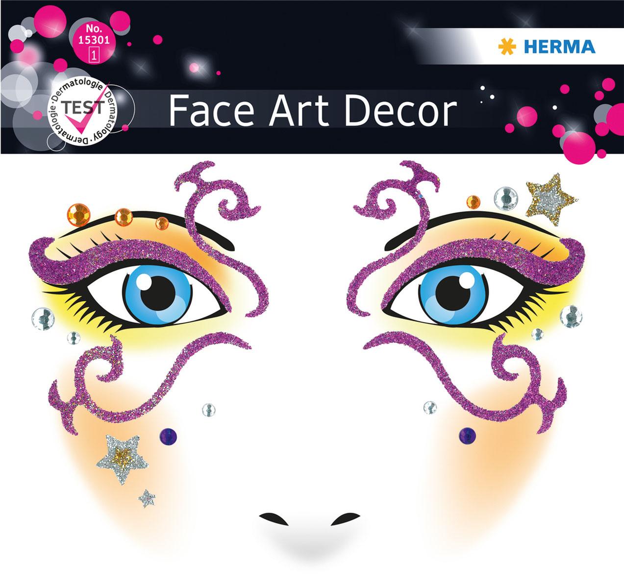 Наклейки на лицо Face Art Mystery15301