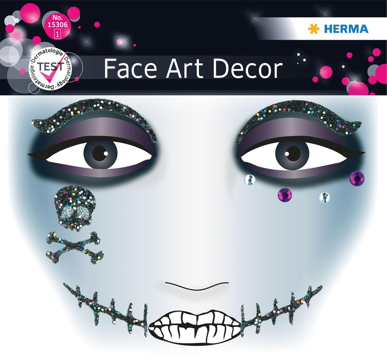 Наклейки на лицо Face Art Pirat15306