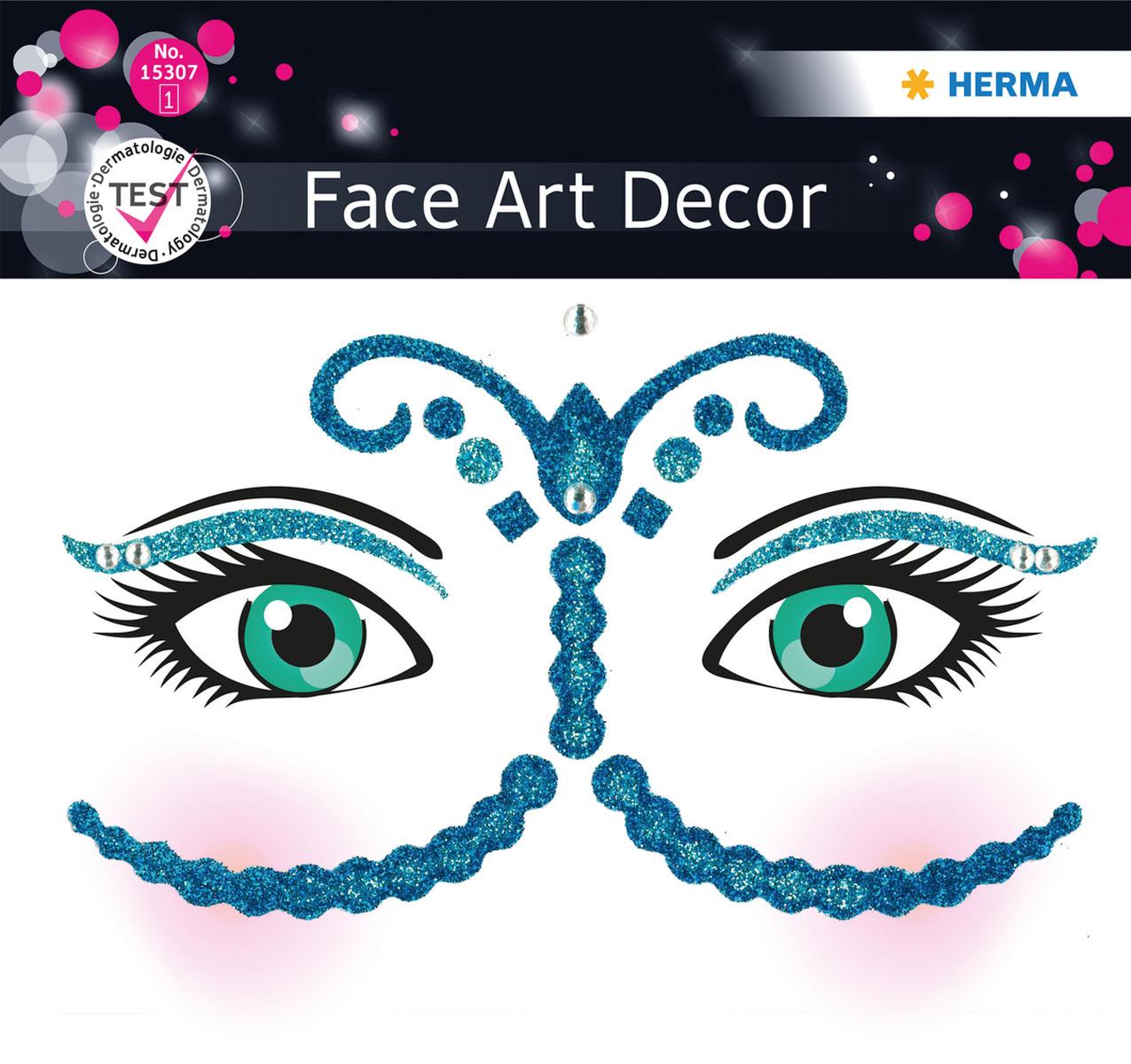 Наклейки на лицо Face Art Bollywood15307