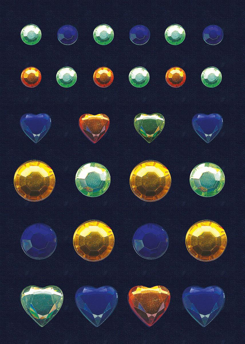 "Herma Наклейки Magic ""Glamour. Бриллиант"", цвет: голубой, салатовый, желтый"