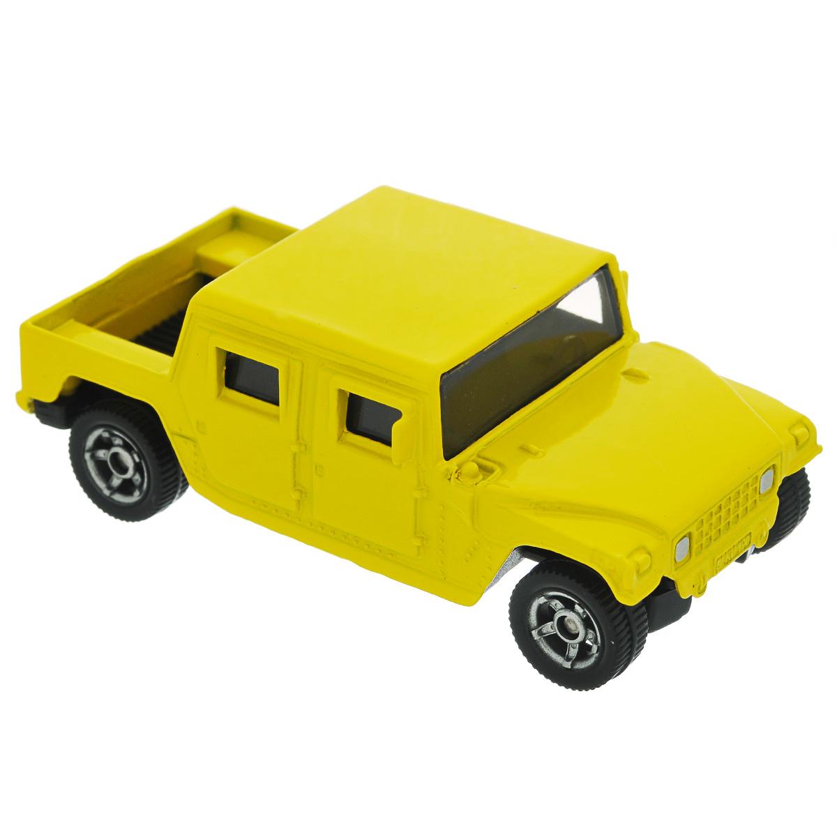 Siku Машинка Canyon0880Коллекционная модель Siku Sikucanyon представляет собой уменьшенную копию реалистичной машины. Такая модель понравится не только ребенку, но и взрослому коллекционеру, и приятно удивит вас высочайшим качеством исполнения. Модель выполнена из металла с элементами из пластика; прорезиненные колеса крутятся. Отличный подарок для любителей автомобилей!