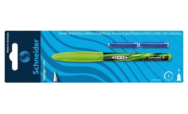 (S76110) Ручка перьевая VOYAGE + 2 балончика блистер, цвет: розовый