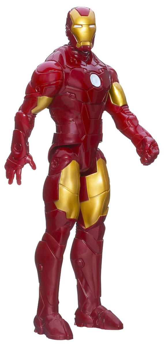 Iron Man Титаны: Железный Человек, 29 см. 6153_А6701A6701Фигурка Iron Man Титаны: Железный Человек станет отличным подарком любителю фильмов и мультфильмов о приключениях Железного Человека. Фигурка выполнена в виде Железного Человека. Руки и ноги подвижны (пять точек артикуляции). Ваш ребенок будет часами играть с такой фигуркой, придумывая различные истории. Порадуйте его таким замечательным подарком!