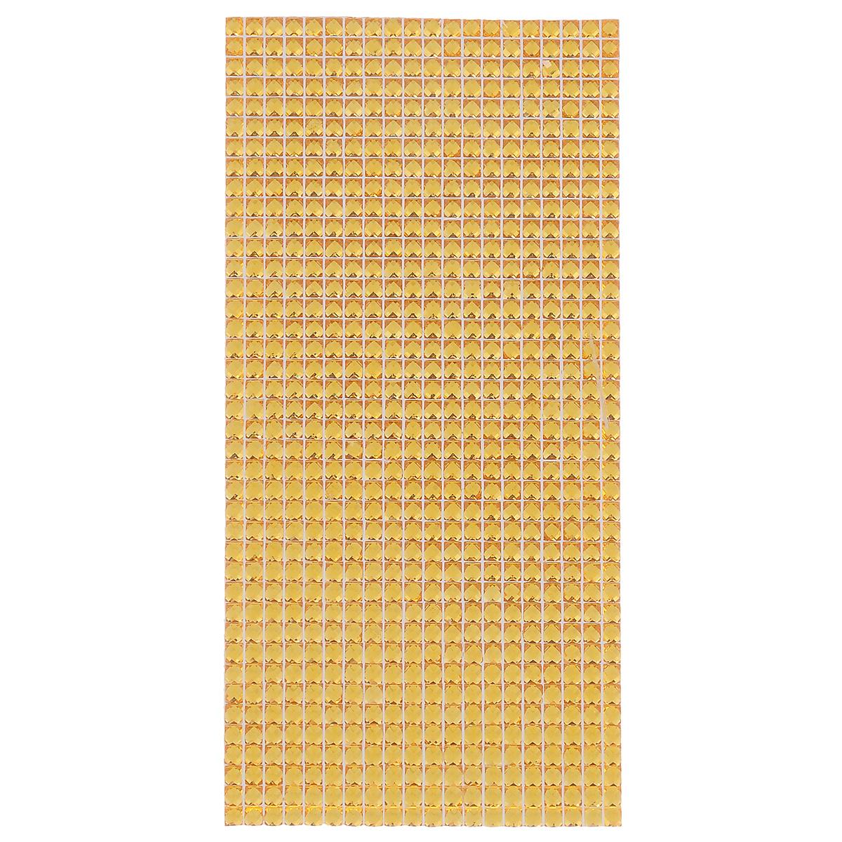 Наклейки декоративные Астра, цвет: золотистый, 18 х 9 см 77084277708427Декоративные наклейки Астра, изготовленные из пластика, прекрасно подойдут для оформления творческих работ в технике скрапбукинга. Их можно использовать для украшения фотоальбомов, скрап-страничек, подарков, конвертов, фоторамок, открыток и т.д. Объемные наклейки квадратной формы оснащены задней клейкой стороной. Скрапбукинг - это хобби, которое способно приносить массу приятных эмоций не только человеку, который этим занимается, но и его близким, друзьям, родным. Это невероятно увлекательное занятие, которое поможет вам сохранить наиболее памятные и яркие моменты вашей жизни, а также интересно оформить интерьер дома. Размер ячейки: 4 мм х 4 мм. Размер листа: 18 см х 9 см.