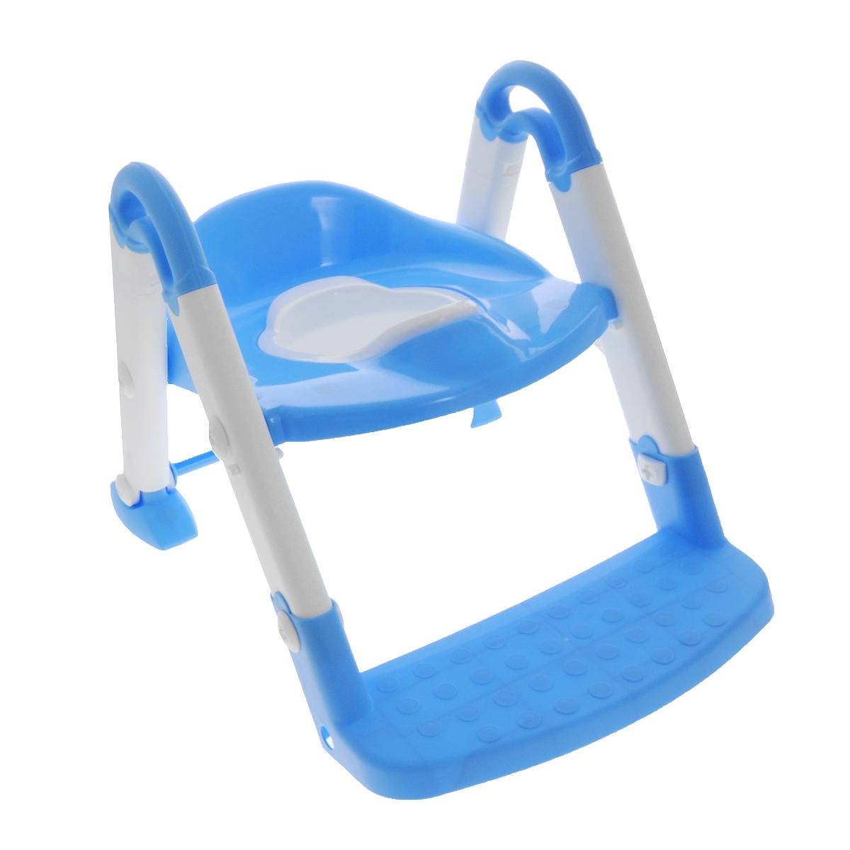 Горшок-трансформер Roxy Kids, 3 в 1, цвет: голубойBPT-106Горшок-трансформер Roxy Kids сделает быстрым и комфортным процесс приучения ребенка к горшку и переход от горшка к унитазу. Горшок выполнен из яркого пластика, соединяется при помощи пластиковых болтов. Внутренняя часть горшка легко вынимается и моется отдельно. Эргономичный горшок-трансформер легко складывается, без труда превращаясь из эргономичного горшка с ручками в адаптер для туалета или насадку на унитаз со ступенькой. Такой горшок поможет с ранних лет приучить малыша к пользованию унитазом, позволяя ему почувствовать себя совсем взрослым. Максимальный вес ребенка: 25 кг.