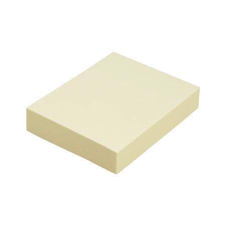 Клейкая бумага для заметок (38*50 мм) 100 листов, желтая