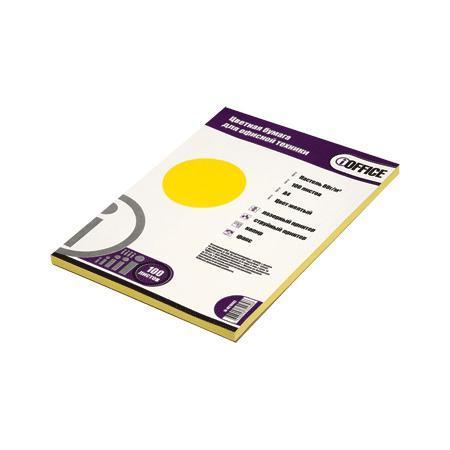 Бумага цветная A4 100 листов