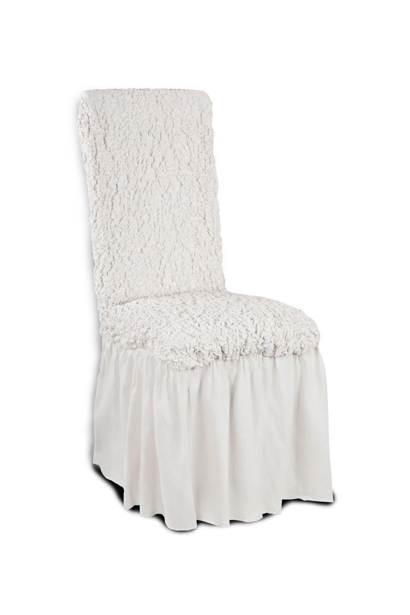 Чехол с юбкой на стул Еврочехол «Модерн», цвет: шампань, 40-60 см  кровать чердак с диваном и шкафом