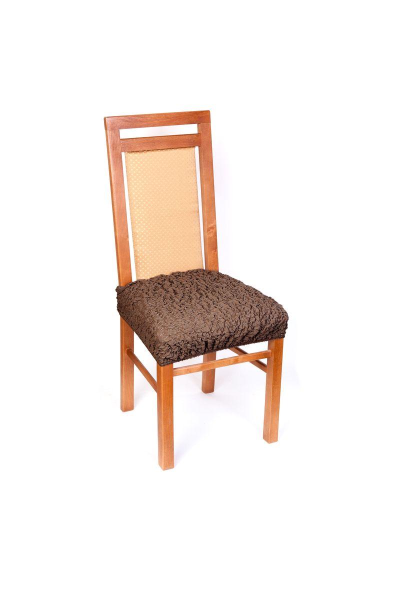 Еврочехол на сиденье стула Модерн Какао1/3-12Красивые итальянские чехлы подойдут на любое сиденье стула. Они надежно защитят обивку Ваших стульев. Чехол на сиденье стула дает возможность оставить открытыми красивые спинки стульев, а в то же время гармоничный бежевый цвет хорошо сочетается с любыми расцветками вашего интерьера. Чехол из ткани нежного бежевого цвета отлично подойдет для любого стула. Легкий пастельный оттенок «кофе с молоком» гармонично впишется в интерьерную концепцию с любой цветовой палитрой, стул в таком чехле станет изысканным дополнением внутреннего убранства. Натуральный спокойный оттенок поддерживает мягкая и приятная на ощупь фактура ткани. Чехол закрывает всю поверхность сиденья, полностью защищая его обивку от внешних воздействий. Еврочехол имеет несколько функциональных элементов: текстильную планку, которая надевается на спинку и фиксирует чехол, и язычок, который легко можно спрятать. Чехол подходит на сиденье стула, а также на табуреты любой формы. Еврочехол защитит ваш стул от ежедневных...