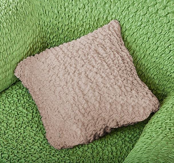 Чехол на подушку Еврочехол Модерн, цвет: какао, 40 х 40 см, 2 шт1/3-17Чехол на подушку Еврочехол Модерн выполнен из 60% хлопка, 35% полиэстера, 5% эластана. В комплекте 2 чехла. Такой набор идеально подойдет для тех, кто хочет защитить декоративные диванные подушки от постоянных воздействий. Этот чехол, благодаря прочности ткани, станет идеальным решением для владельцев домашних животных. Кроме того, натуральный состав ткани гипоаллергенен, а потому безопасен для малышей или людей пожилого возраста. Тон чехла универсален, а потому модель и остается актуальной. Чехол отлично вписывается в любой интерьер, особенно если это классический стиль, конструктивизм, минимализм, постмодернизм. Чехол на подушку Еврочехол Модерн послужит не только практичной защитой для вашей подушки, но и приятно удивит вас мягкостью ткани и итальянским качеством производства. Размер подушки: 40 см х 40 см. Комплектация: 2 шт.