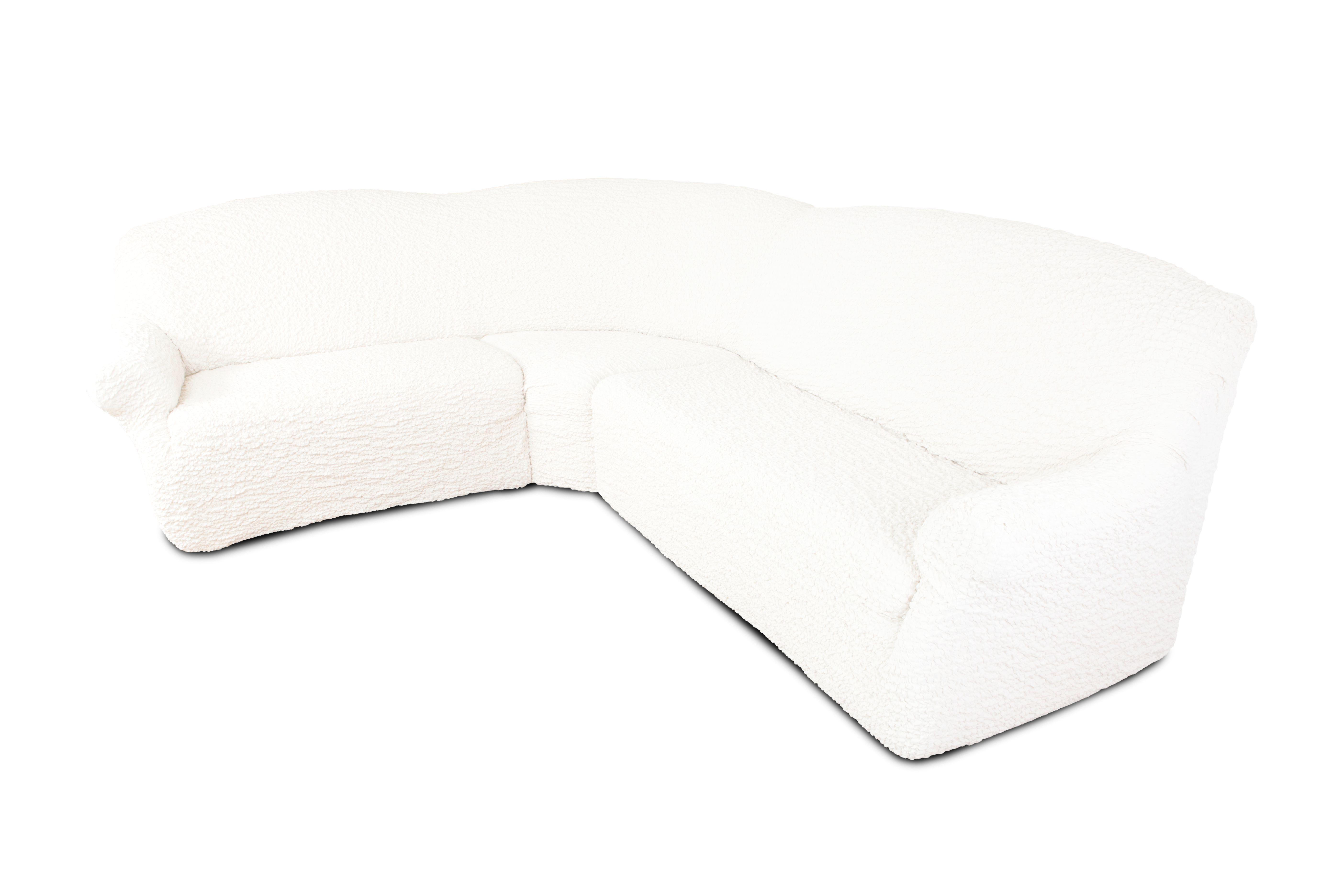Еврочехол на классический угловой диван «Модерн» Шампань  недорогие журнальные столики на колесах