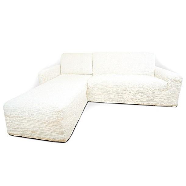 Чехол на угловой диван с выступом слева Еврочехол