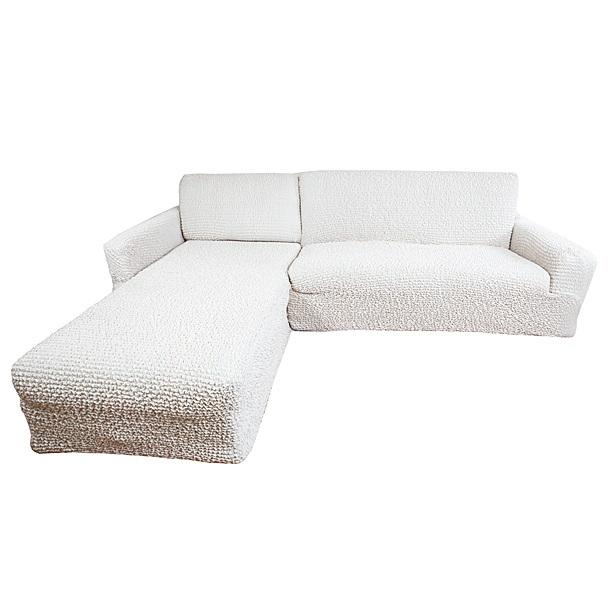 Еврочехол на угловой диван с выступом слева Микрофибра Ваниль3/22-9Чехол для мебели «Ваниль» идеально подойдет для тех, кто хочет защитить свою мебель от постоянных воздействий. Этот еврочехол, благодаря прочности ткани, станет идеальным решением для владельцев домашних животных. Кроме того, натуральный состав ткани гипоаллергенен, а потому безопасен для малышей или людей пожилого возраста. «Ваниль» - самая популярная из всего ассортимента модель еврочехлов. Светлый тон еврочехла универсален, а потому модель и остается актуальной. Еврочехол Микрофибра «Ваниль» отлично вписывается в любой интерьер, особенно, если это классический стиль, конструктивизм, минимализм, постмодернизм, контемпорари. Еврочехол «Ваниль» послужит не только практичной защитой для Вашей мебели, но и приятно удивит Вас мягкостью ткани и итальянским качеством производства. Состав: 100% микрофибра. Растяжимость чехла по спинке (без учета подлокотников): от 300 до 450 сантиметров. Оттенок: Ваниль (светлый, с нежно-розовым оттенком). Стирка: Машинная, рекомендуемая температура -...