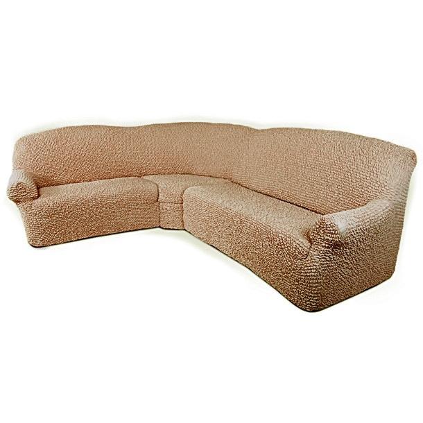 Чехол на угловой диван Еврочехол Микрофибра, цвет: кофейный, 380-550 см3/23-8Чехол на классический угловой диван Еврочехол Микрофибра выполнен из 100% полиэстера. Он идеально подойдет для тех, кто хочет защитить свою мебель от постоянных воздействий. Этот чехол, благодаря прочности ткани, станет идеальным решением для владельцев домашних животных. Кроме того, состав ткани гипоаллергенен, а потому безопасен для малышей или людей пожилого возраста. Такой чехол отлично впишется в любой интерьер. Еврочехол послужит не только практичной защитой для вашей мебели, но и приятно удивит вас мягкостью ткани и итальянским качеством производства. Растяжимость чехла по спинке (без учета подлокотников): 380-550 см.