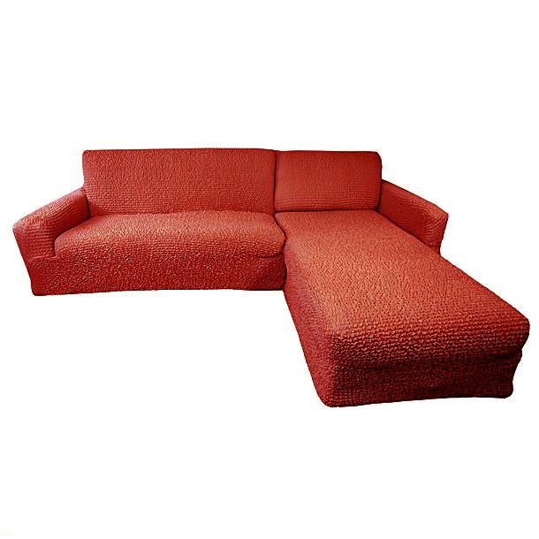 Еврочехол на угловой диван с выступом справа Микрофибра Терракотовый3/24-10Терракотовый цвет – это воплощение солнца и радости. Выбирая еврочехол в таком цвете для своей мебели, Вы ощутите, как Ваша комната в одно мгновение оживится и наполнится теплом, комфортом, жизнерадостностью. Мягкая ткань будет плотно облегать Вашу мебель, а прочный материал прослужит долгое время. Терракотовый оттенок идеально сочетается со многими цветовыми решениями, придавая оригинальность оформлению помещения гостиной, кухни, прихожей, спальни или детской. Особенно выгодно «Терракотовый» еврочехол для мебели подчеркнет оформление дома в классическом, восточном, африканском, марокканском, античном или колониальном стиле, а также в стиле кантри, винтаж, авангард. Благородная ткань и уникальность технологии производства «Терракотового» еврочехла будет ежедневно радовать Вас своим непревзойденным качеством класса люкс. Состав: 100% микрофибра. Растяжимость чехла по спинке (без учета подлокотников): от 300 до 450 сантиметров. Оттенок: Терракотовый (кирпичный). Стирка: Машинная,...