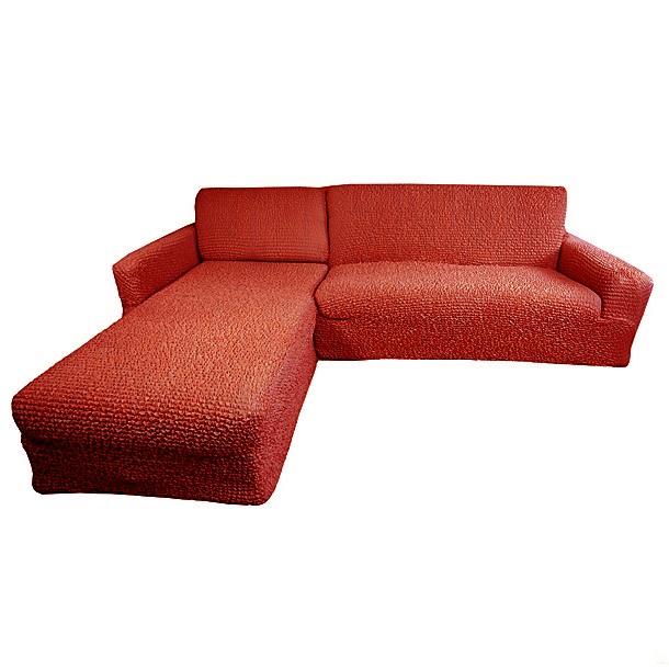 Еврочехол на угловой диван с выступом слева Микрофибра Терракотовый3/24-9Терракотовый цвет – это воплощение солнца и радости. Выбирая еврочехол в таком цвете для своей мебели, Вы ощутите, как Ваша комната в одно мгновение оживится и наполнится теплом, комфортом, жизнерадостностью. Мягкая ткань будет плотно облегать Вашу мебель, а прочный материал прослужит долгое время. Терракотовый оттенок идеально сочетается со многими цветовыми решениями, придавая оригинальность оформлению помещения гостиной, кухни, прихожей, спальни или детской. Особенно выгодно «Терракотовый» еврочехол для мебели подчеркнет оформление дома в классическом, восточном, африканском, марокканском, античном или колониальном стиле, а также в стиле кантри, винтаж, авангард. Благородная ткань и уникальность технологии производства «Терракотового» еврочехла будет ежедневно радовать Вас своим непревзойденным качеством класса люкс. Состав: 100% микрофибра. Растяжимость чехла по спинке (без учета подлокотников): от 300 до 450 сантиметров. Оттенок: Терракотовый (кирпичный). Стирка: Машинная,...