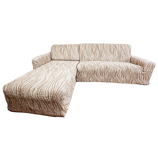 Чехол на угловой диван Еврочехол Виста. Элегант, 300-450 см6/43-9Чехол на угловой диван Еврочехол Виста. Элегант выполнен из 50% хлопка, 50% полиэстера. Он идеально подойдет для тех, кто хочет защитить свою мебель от постоянных воздействий. Этот чехол, благодаря прочности ткани, станет отличным решением для владельцев домашних животных. Кроме того, состав ткани гипоаллергенен, а потому безопасен для малышей или людей пожилого возраста. Такой чехол отлично впишется в любой интерьер. Еврочехол послужит не только практичной защитой для вашей мебели, но и приятно удивит вас мягкостью ткани и итальянским качеством производства. Растяжимость чехла по спинке (без учета подлокотников): 300-450 см.